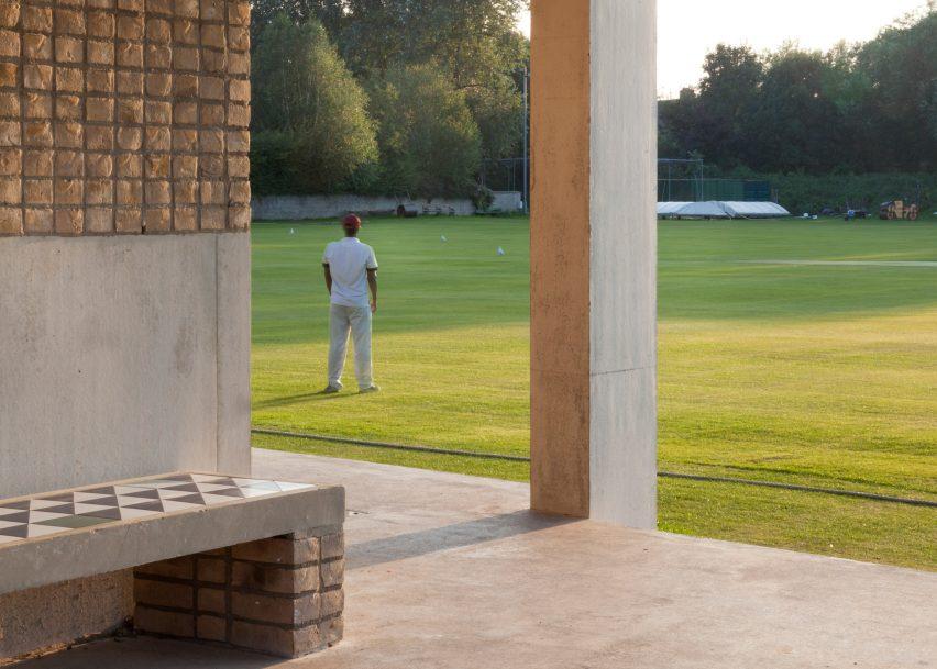 Merrion Cricket Pavilion, Dublin, by TA