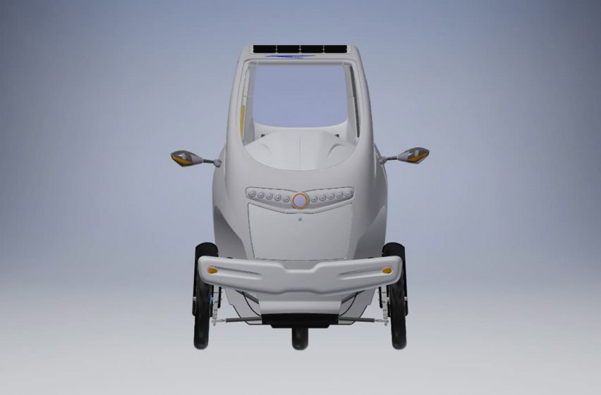 Digital prototype of Velometro Mobility's Veemo