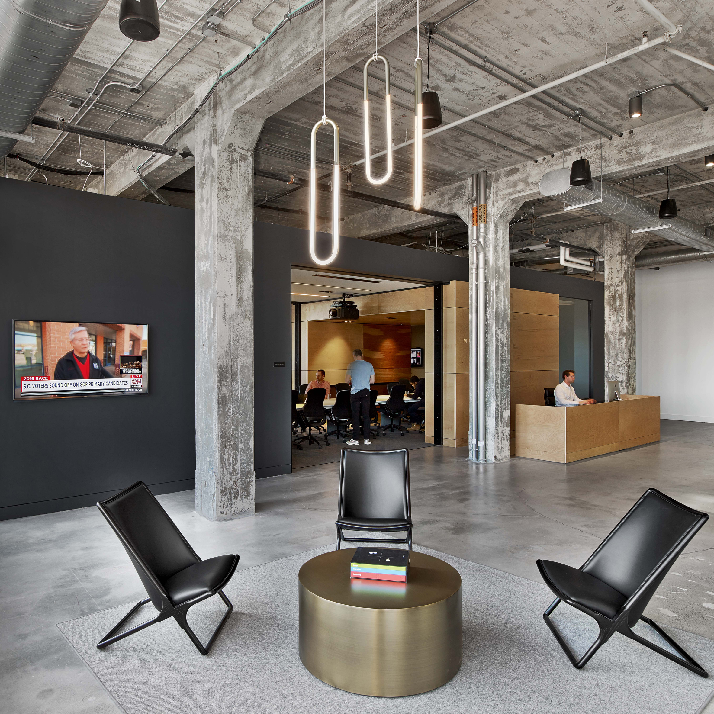 Interior design architecture for Office design dezeen