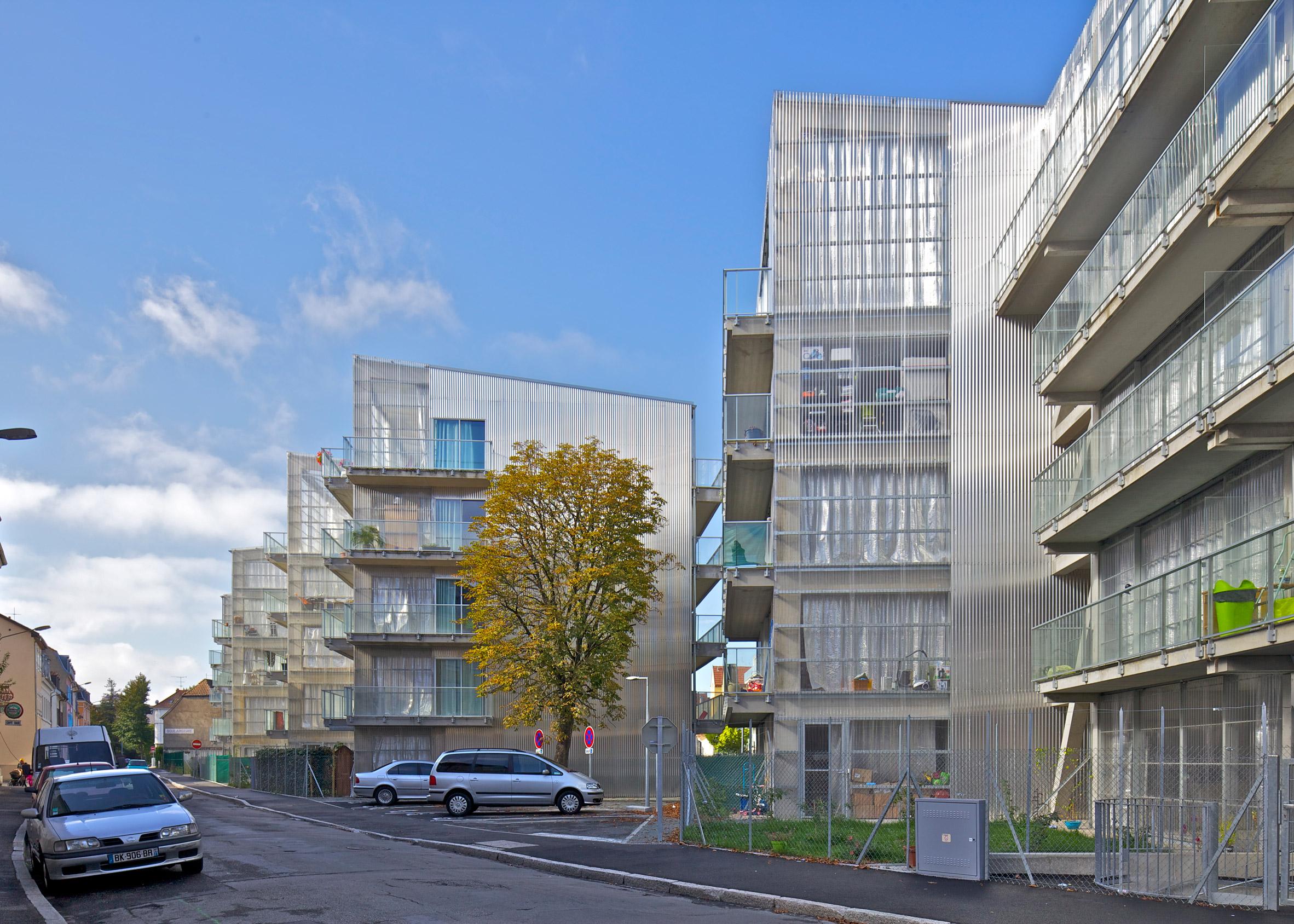 59 Dwellings, Neppert Gardens Social Housing, Haut-Rhin, by Lacaton & Vassal architectes