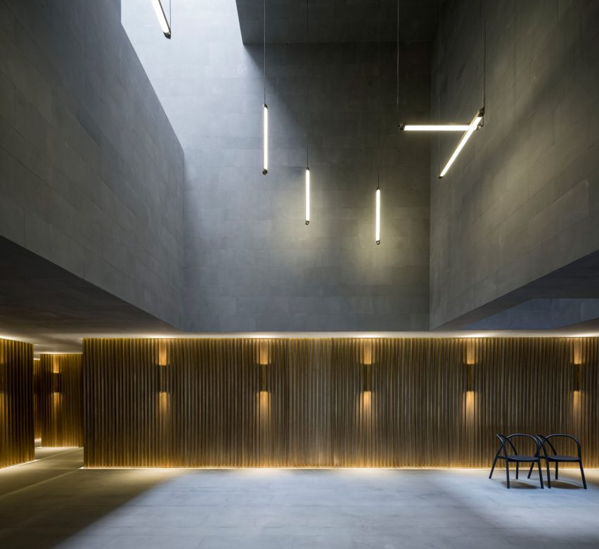 Shanghai Theatre by Neri&Hu