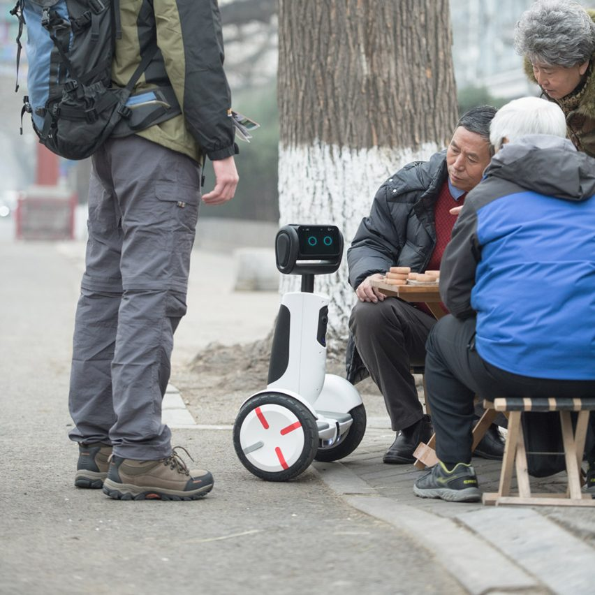 Segway's latest personal transportation device doubles as a robotic companion