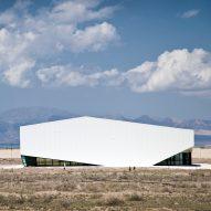 "FEA Studio installs ""cloud-like"" sports hall in mountainous landscape of northern Iran"