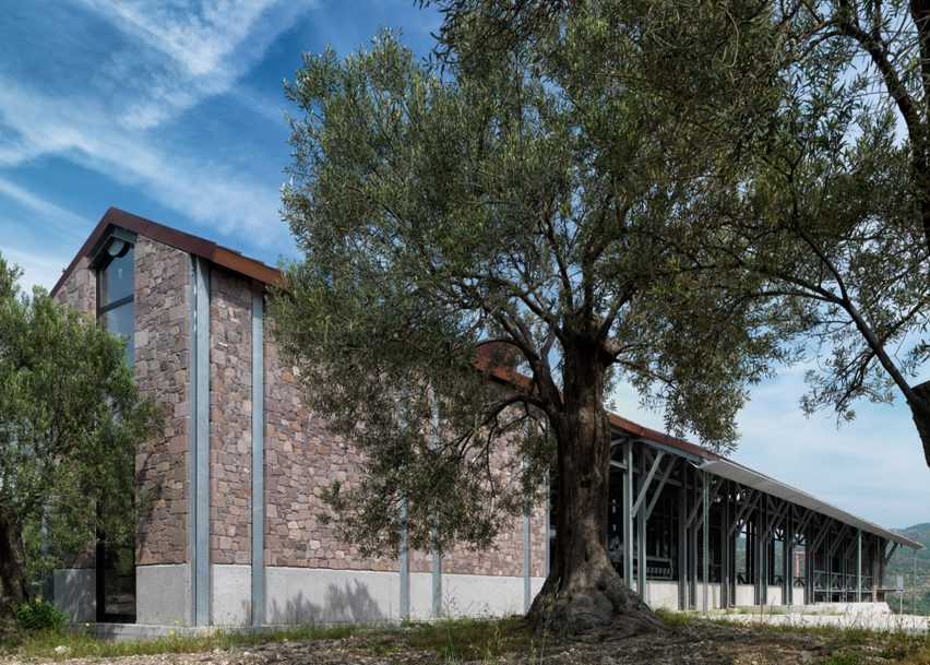 Angelos Organic Olive Oil Mill, Izmir, by Mimarlar ve Han Tümertekin