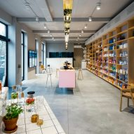 Zware Jongens abandons clinical white to create welcoming, open-plan pharmacy