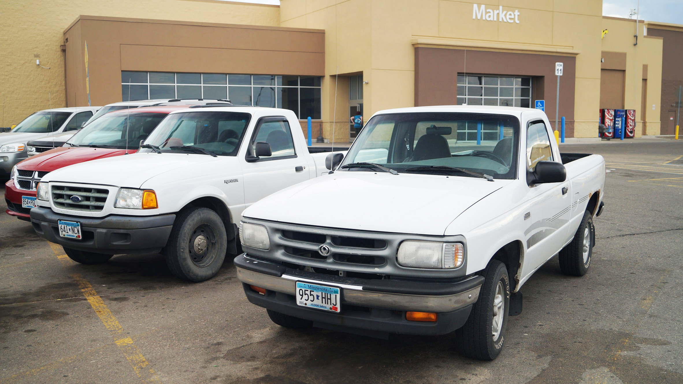 Pick-up trucks