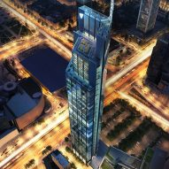 Construction begins on Poland's tallest tower by Foster + Partners