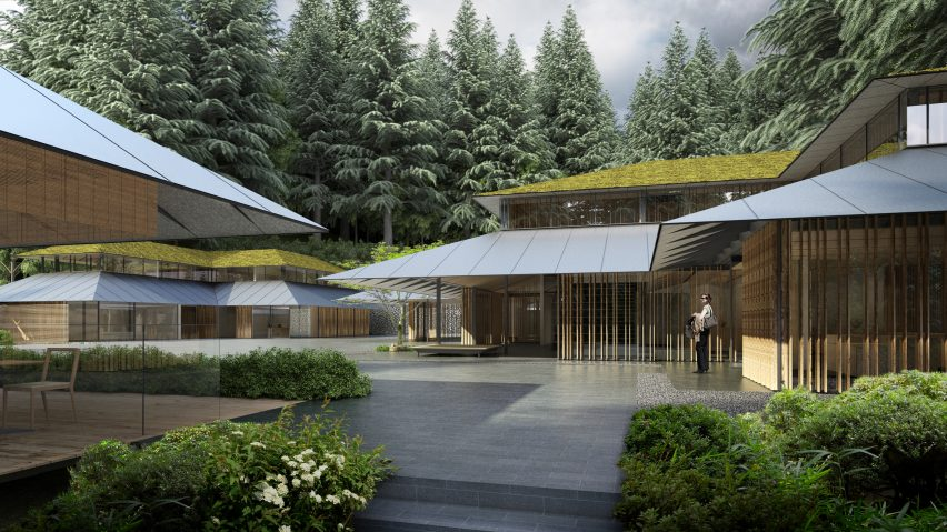 Kengo Kumau0027s Expansion Of Portland Japanese Garden Set To Open In April