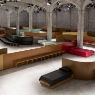 AMO designs Prada catwalk as a series of interior scenes