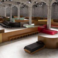 AMO designs Prada catwalk as a series of interior scenes