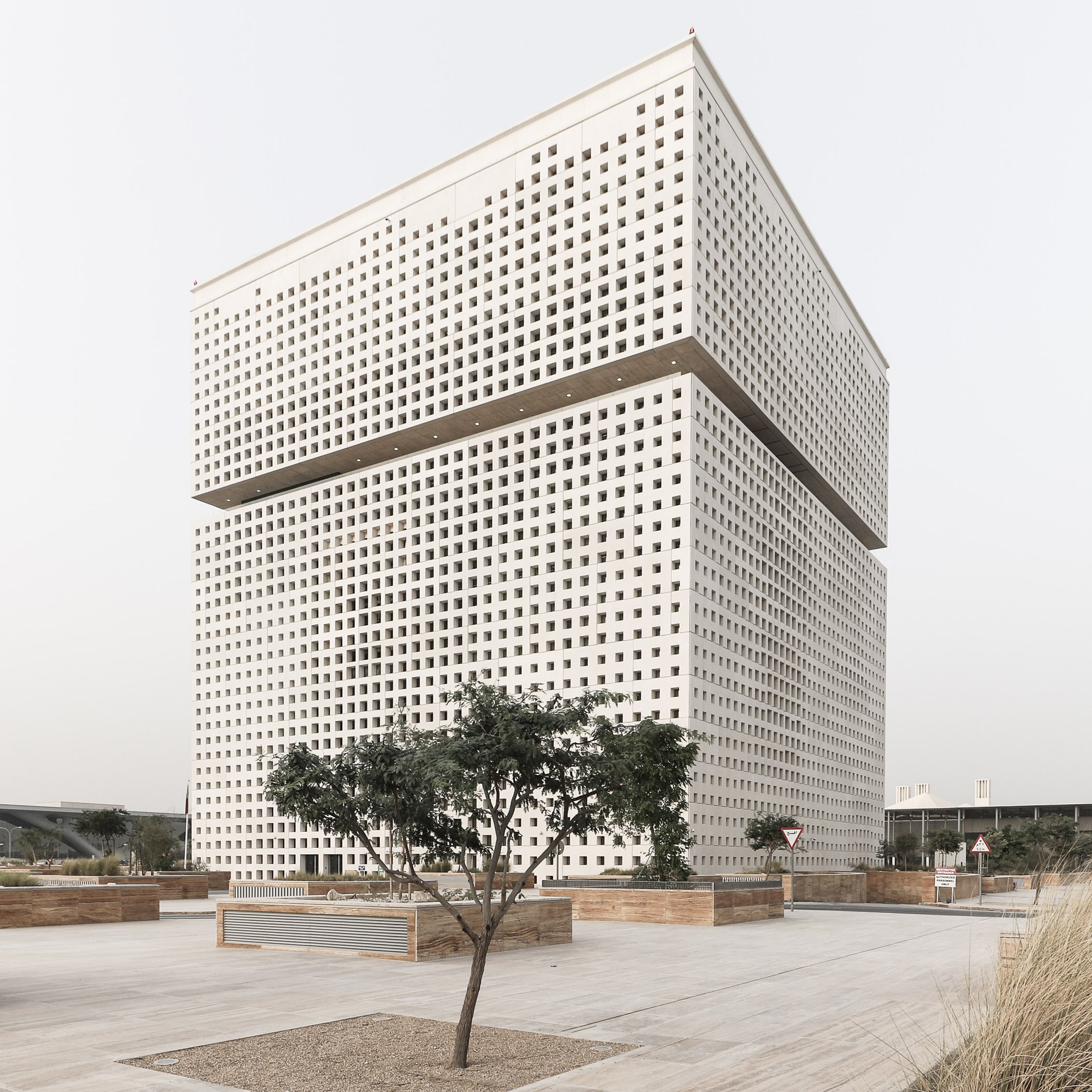 OMA's Qatar National Library nears completion in Doha