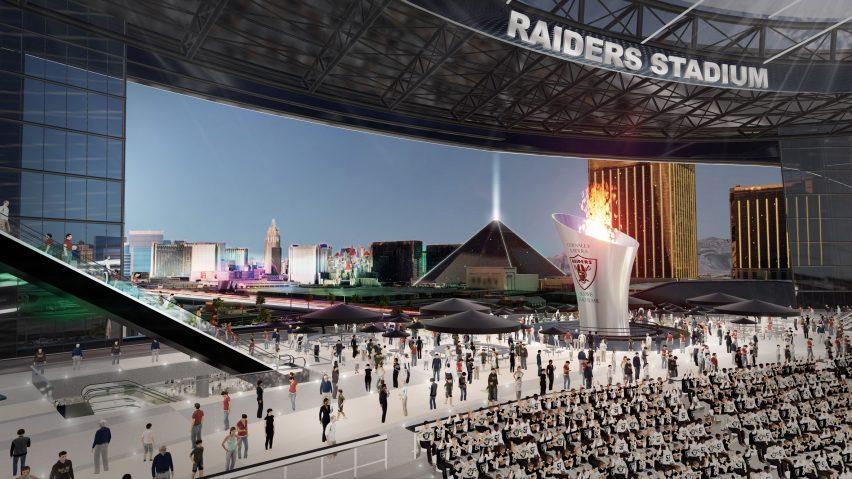 Raiders Stadium by MANICA