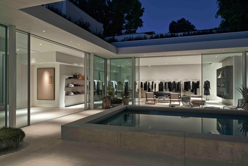 The Row Showroom In Los Angeles