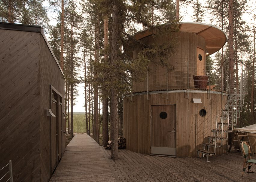 The Treehotel Site Also Includes A Traditional Swedish Sauna 8 Of 8 ...