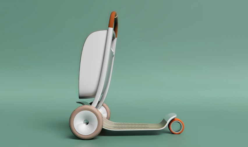 Scooter for Life by PriestmanGoode at Design Museum