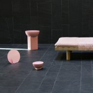 "Sebastian Herkner produces ""playful and brutalist"" collection for Pulpo"