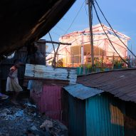 Selgascano-designed pavilion transformed into school for Kenya's Kibera slum