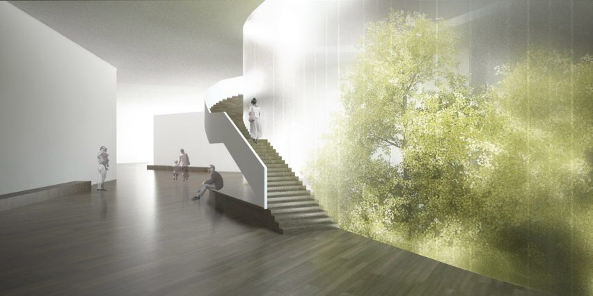 Shanghai Culture and Health Center by Steven Holl