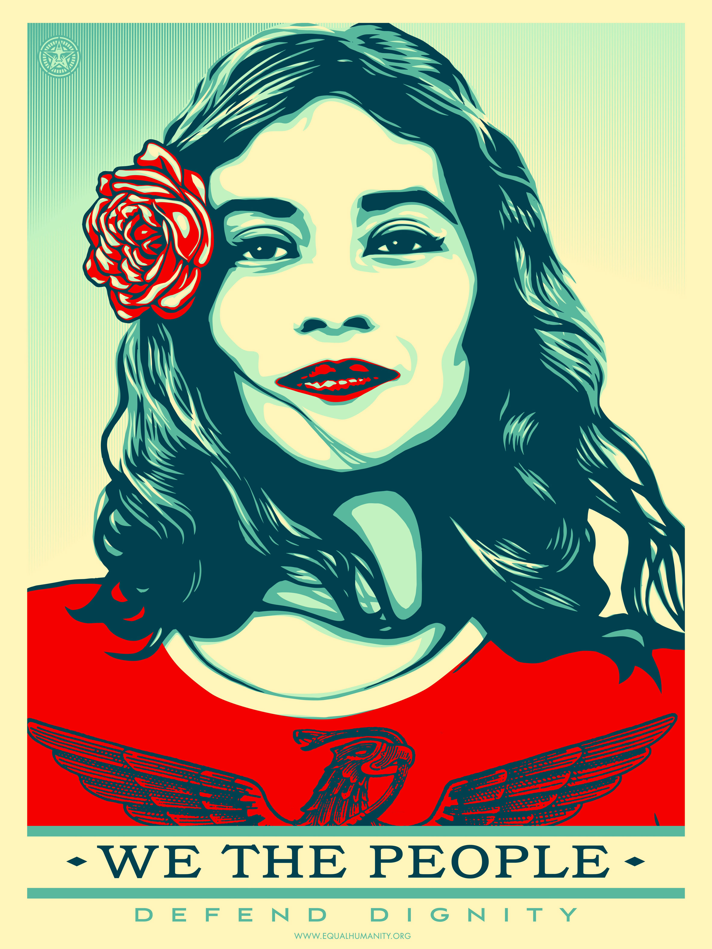 Shepard Fairey adapts Obama's Hope poster for Trump inauguration