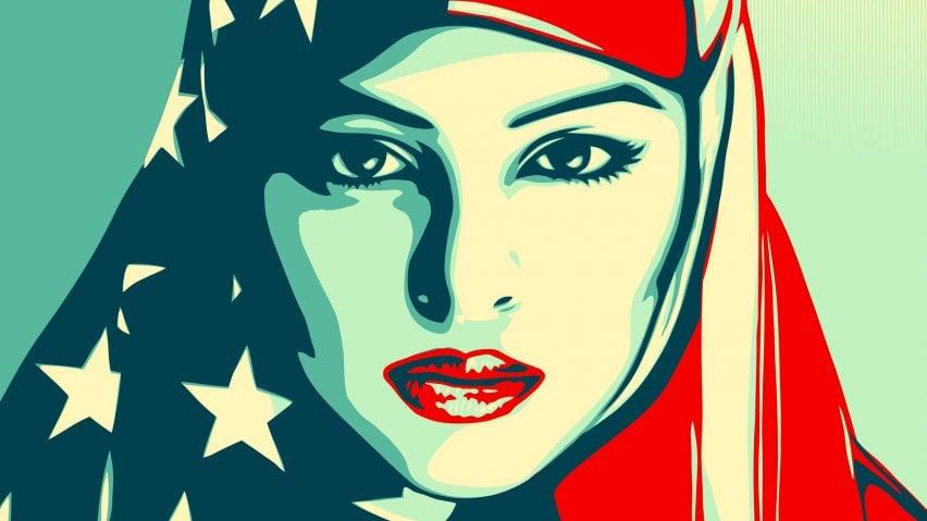 Shepard Fairey inauguration posters