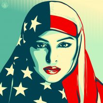 Shepard Fairey inauguration posters