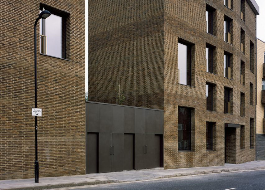 Shepherdess Walk Housing, London, by Jaccaud Zein Architect