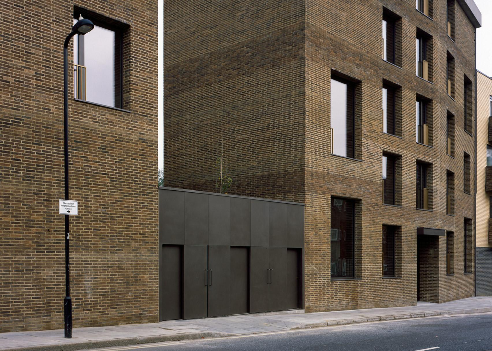 Shepherdess Walk Housing, London, by Jaccaud Zein Architect