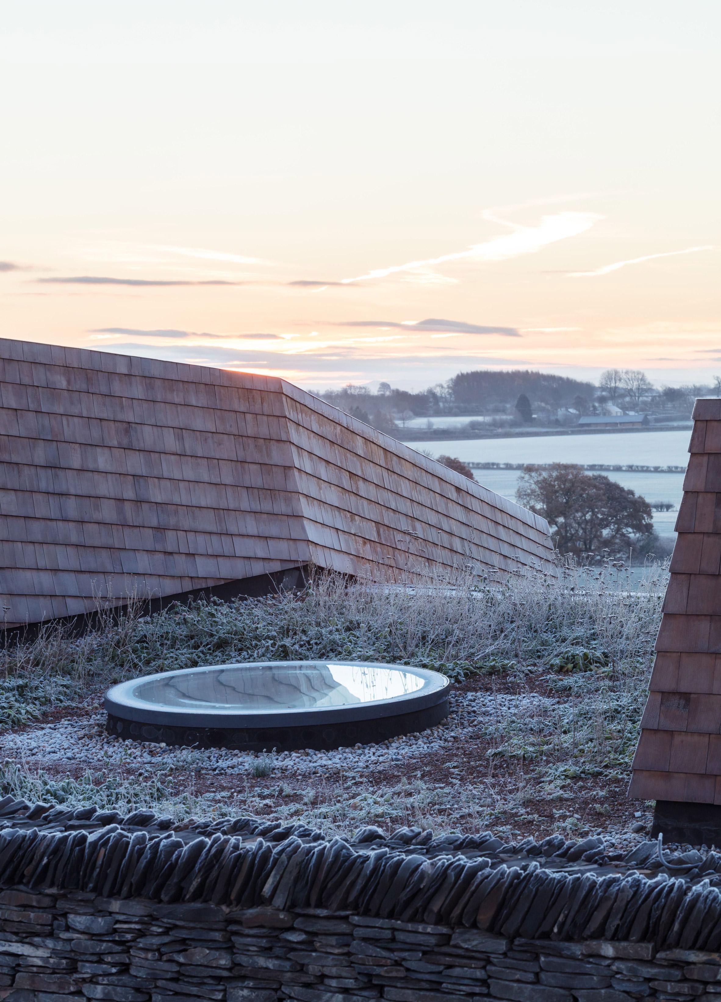 Mawson Kerr uses oak, cedar and slate for rural music centre in Cumbria