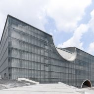 Tadao Ando's Poly Grand Theatre photographed by Yueqi Li