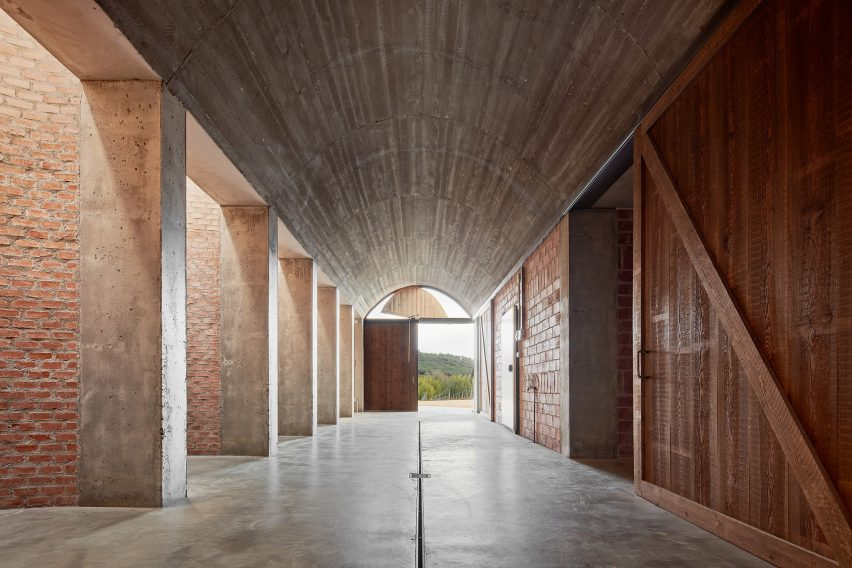The Mont-Ras Winery in Girona by Jorge Vidal Arquitectos