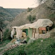 Ben Murphy photographs makeshift architecture in the mountains of southeast Spain