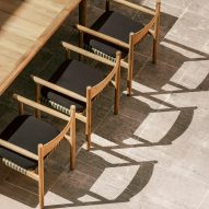 Barber and Osgerby unveil outdoor furniture collection for Dedon