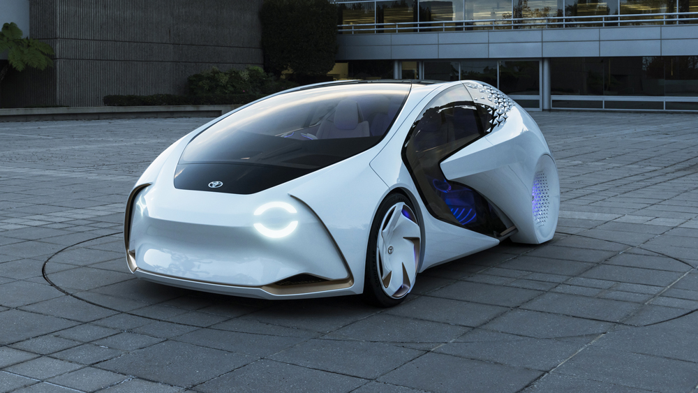 Toyota S Concept I Car Anticipates Its Driver S Needs