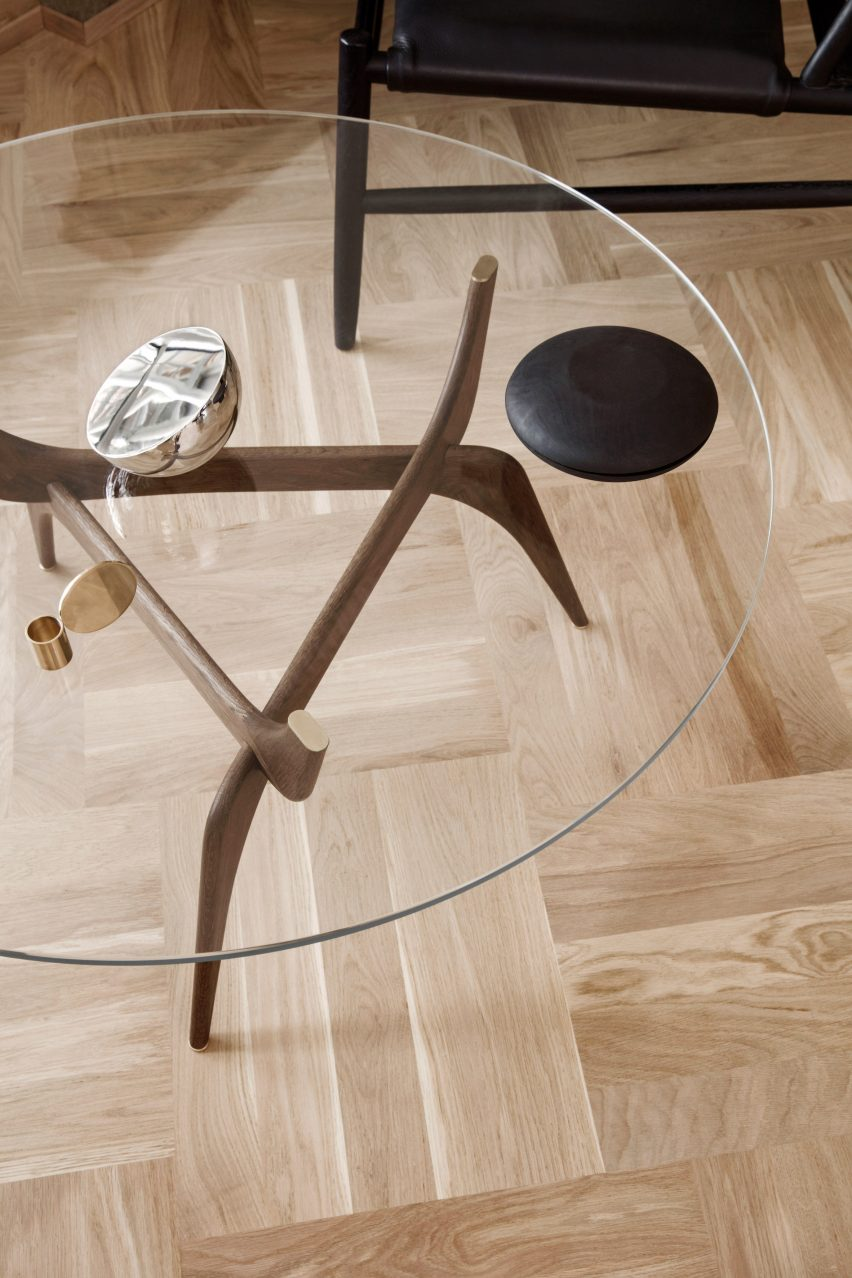 IMM: Triiio tables by Hans Bølling for Brdr. Krüger