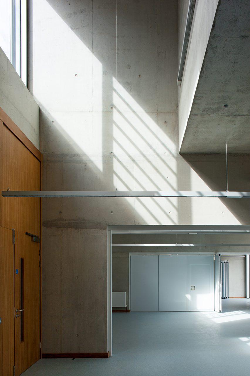 University of Limerick Medical School, Residences, Piazza and Pergola; Limerick, Ireland, 2012, by Universita Luigi Bocconi School of Economics; Milan, Italy, 2008, by Grafton Architects