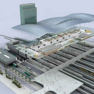 Utrecht Central Station by Benthem Crouwel Architects