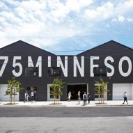 Jensen Architects converts San Francisco warehouse into arts centre with black and white facade