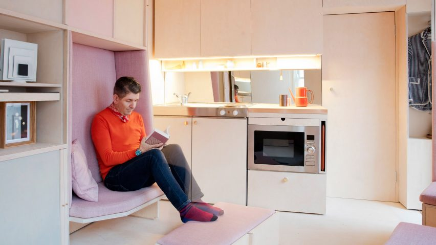 Studiomama uses adaptable furniture to create what might be London's smallest house