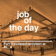 Job of the day: Part-II architectural assistant/architect at AL_A
