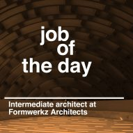Job of the day: intermediate architect at Formwerkz Architects