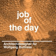 Job of the day: Part-II/Part-III architect or 3D designer for Wolfgang Buttress