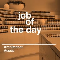 Job of the day: in-house architect at Aesop