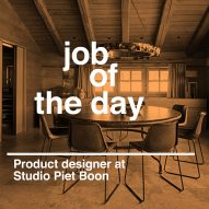 Job of the day: product designer at Studio Piet Boon