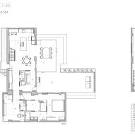 Peart/Weisgerber Residence at Habitat-67 by Moshe Safdie renovated by EMarchitecture - plan
