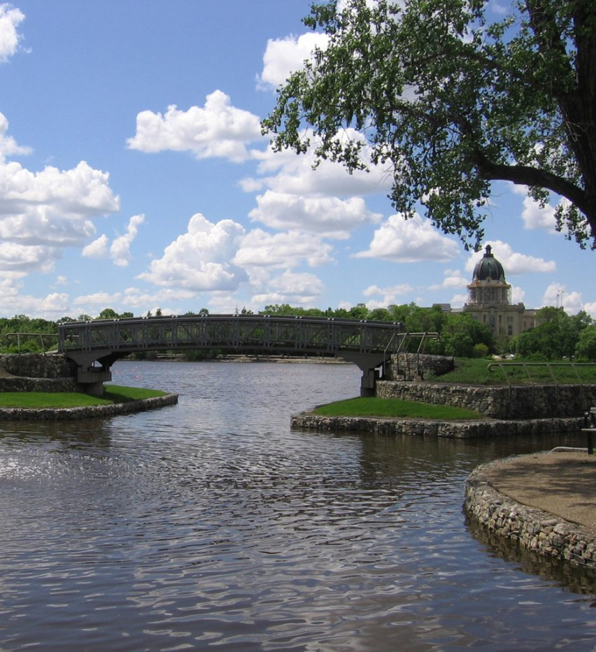 Wascana Centre by Roger du Toit, photograph by Wascana Centre Authority