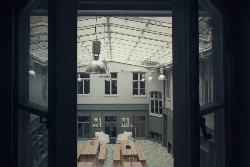 Alma creative space Stockholm by Tham & Videgård