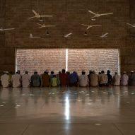 Bait Ur Rouf Mosque, Dhaka, Bangladesh by Marina Tabassum