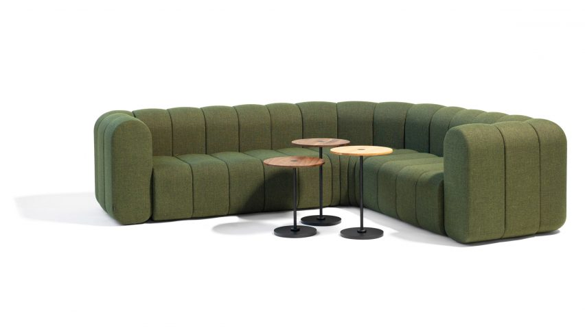 """Blå Station's modular Bob sofa offers """"almost unlimited options"""""""