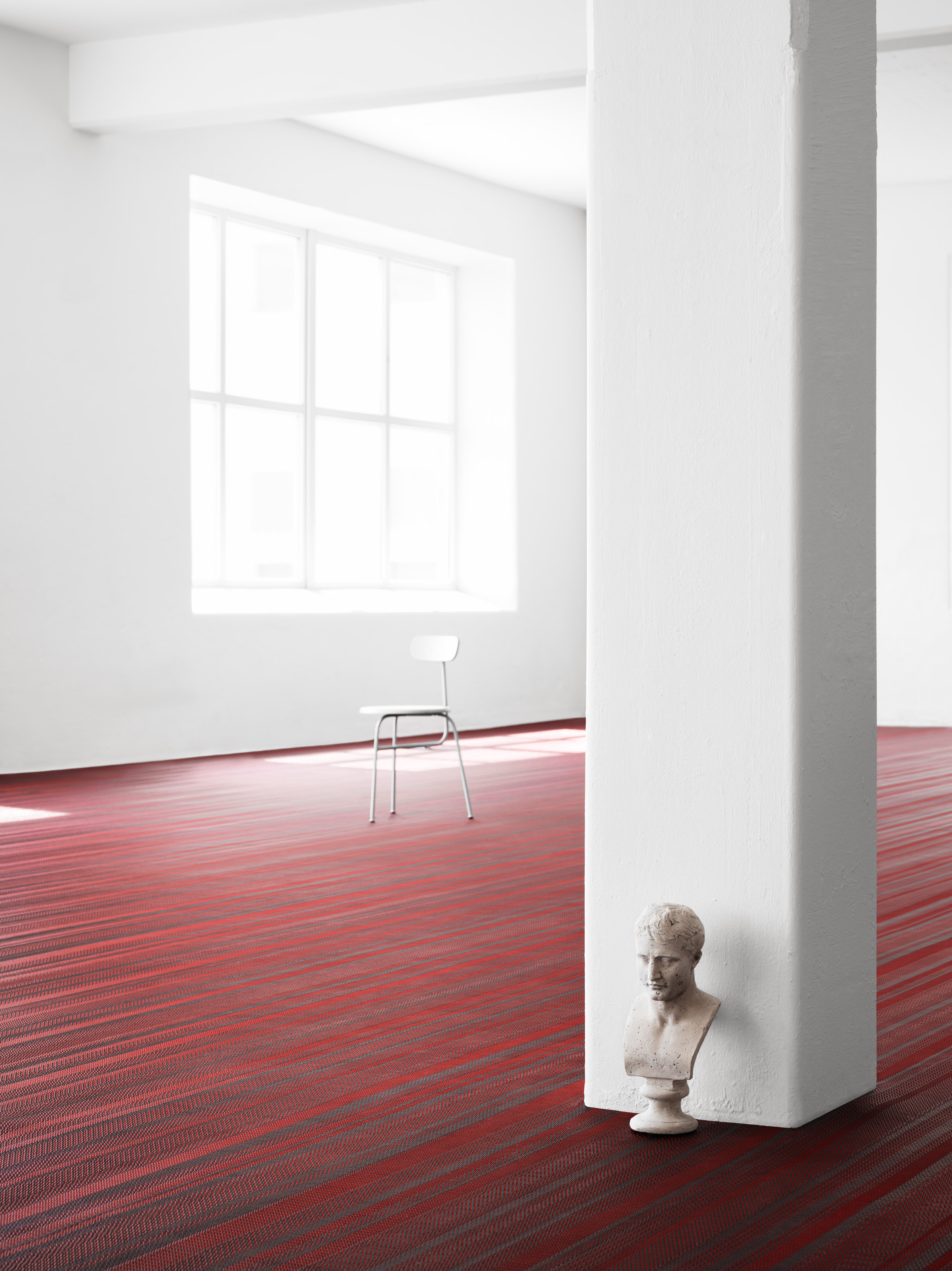 Jean Nouvel designs striped flooring collection for Bolon