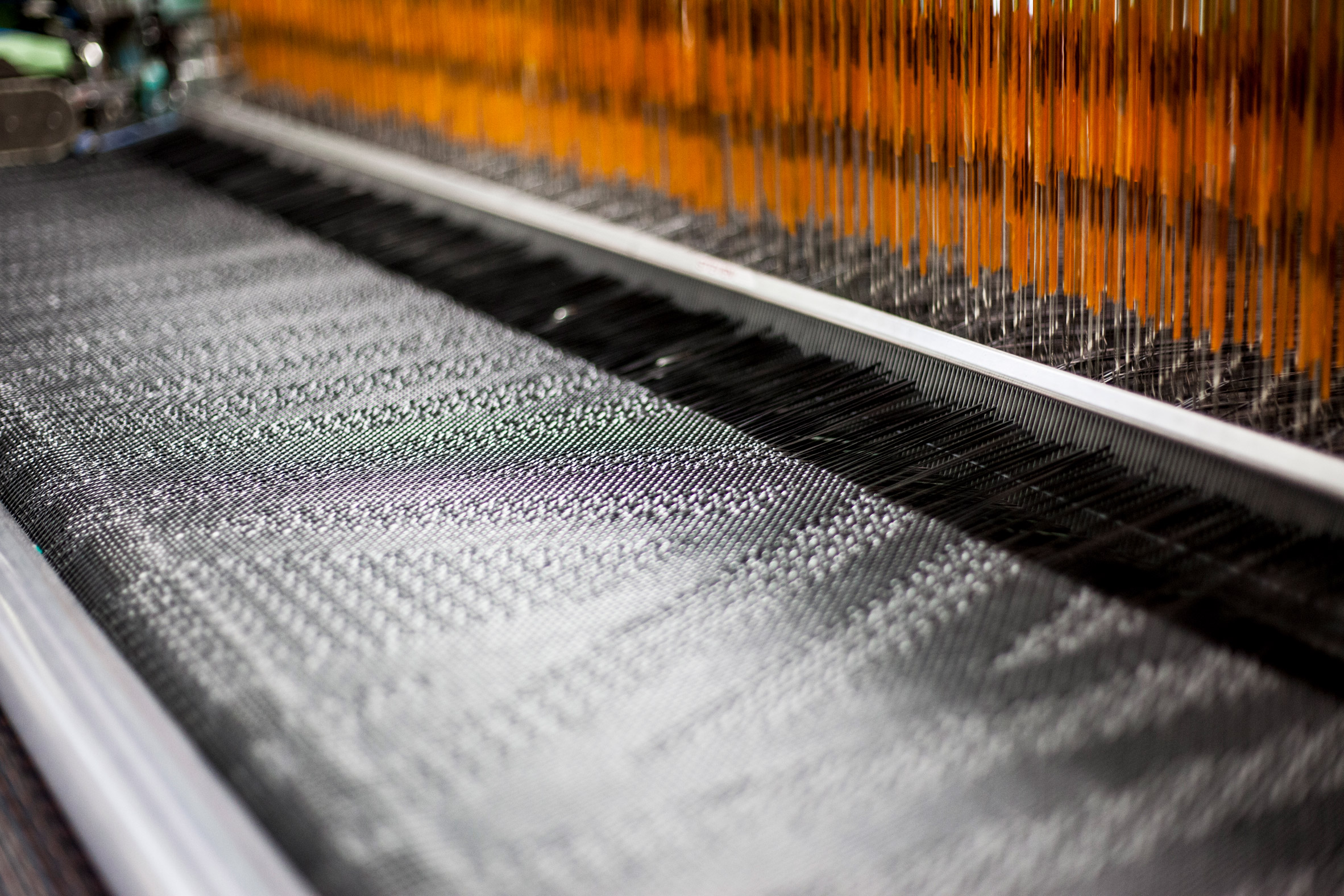 Technology means there's no limit to designs Bolon's factory can produce, says creative director Marie Eklund